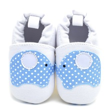 Baby First Walkers Baby Shoes Cute Elephant Soft Bottom Toddler Shoes for Kids