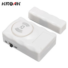 KROAK Wireless Car Home Company Warehouse Entry Magnetic Security Alarm System Door Window Alarm System