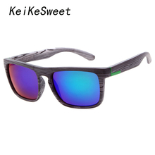 KeiKeSweet Hot Popular Sport Men Ok Sun Glasses Outdoor Mirror Brand Fishing Designer Cool Rayed Top Male Sunglasses(China)