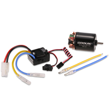 GoolRC 540 13T Brushed Motor with 60A ESC Combo for 1/10 Traxxas Ford F-150 RC Car Parts(China)