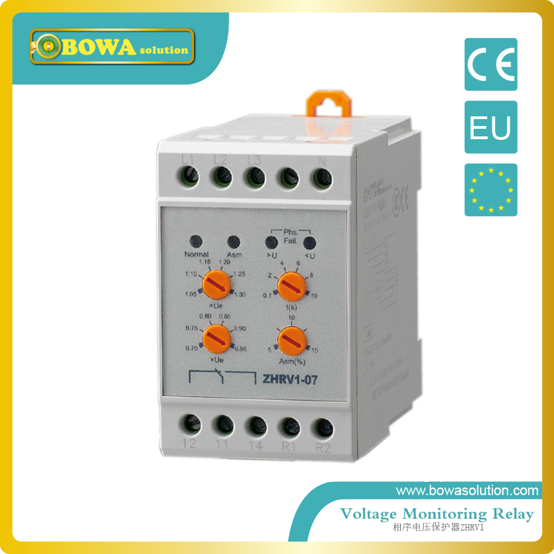 Voltage monitoring relay ZHRV1-01RT/02RT/09RT to 019RT or 01FR to 06FR/09FR to 19FR or 01PR~06PR/09PR~19PR<br>