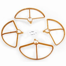 Hot Hubsan H501S X4 RC Quadcopter Spare Parts Upgraded Propeller Protector Protection Cover(China)