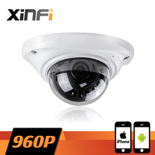 XINFI HD 960P indoor elevator camera CCTV IP camera Surveillance network Camera for elevator or ceiling 1.3mp ONVIF remote view