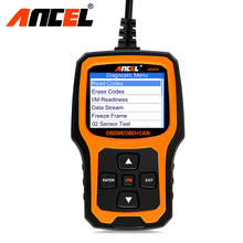 OBD2 OBD Automotive Scanner Ancel AD410 obd ii Auto Car diagnostics scanner universal in Russian Scan Fault Code Reader Analyzer(Hong Kong)