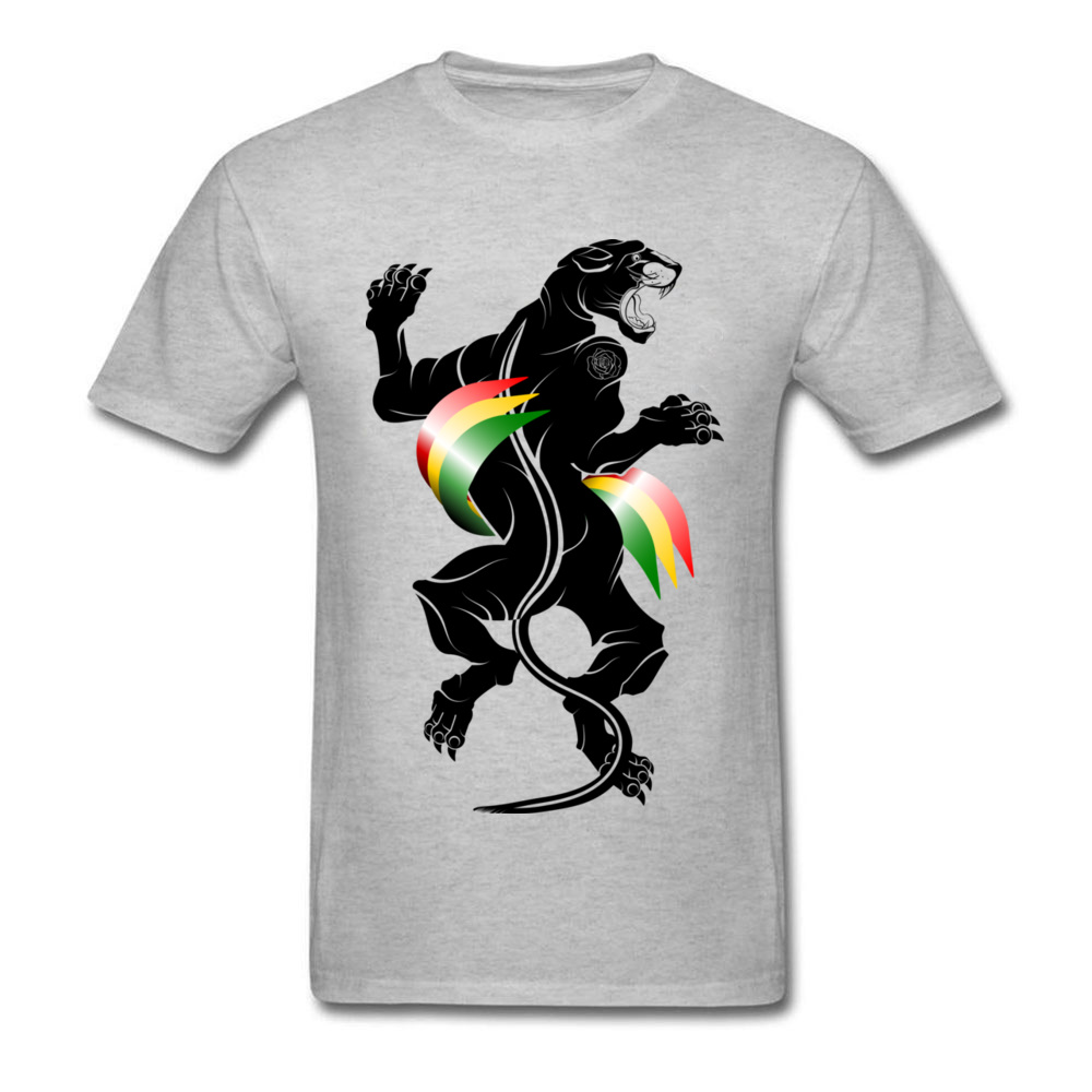 Panther Reggae Traditional Tattoo_grey