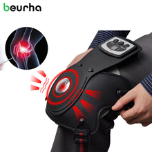 Beurha Therapy Knee stimulator Physiotherapy Instrument Shiatsu Massager Electrical Muscle stimulators Relieve Leg Elbow Pain