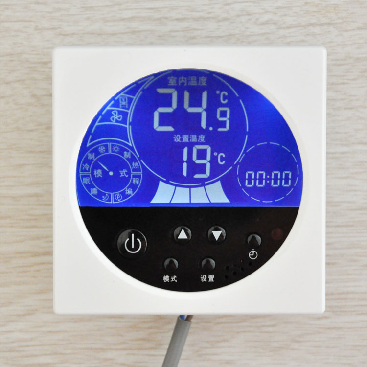 K203 central air-conditioning fan coil LCD thermostat temperature controller temperature control switch Speed<br><br>Aliexpress