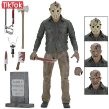 Friday The 13TH The Final Chapter Freddy Vs Jason Cartoon Toy Action Figure Model Doll Gift(China)