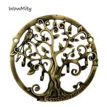 "Wall Door Hook Hanger.Living Room & Kitchen Vintage .Housekeeper ""Happiness, Good Health, Good"" Home Decor Of Hollow Tree Design(China)"
