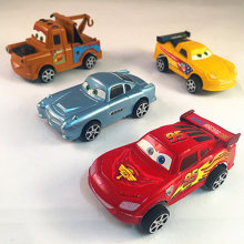 4PCS Die casts Set An inertia car Alloy Back Model Car Suit Baby Children Toy Car Hot Wheels Machines Kids Toys