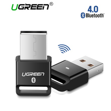 Ugreen Wireless USB Bluetooth Adapter V4.0 Bluetooth Dongle Music Sound Receiver Adapter Bluetooth Transmitter for Computer PC(China)