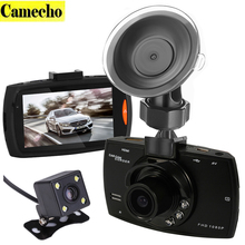 2016 New Novatek 2 lens Car DVR Dual Camera G30 1080P Video Recorder With Rear View Cameras Night Vision Camcorder BlackBox