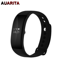 V66 Smart Band for HTC Samsung S7 IOS Android OLED Touch Screen Bluetooth 4.0 Sport Pedometer IP67 Deep Waterproof Smart Watch(China)