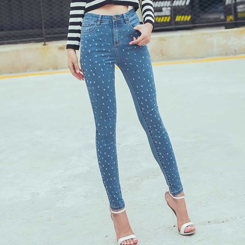 Boyfriend hole ripped jeans women pants Cool denim vintage straight jeans for girl High waist casual pants femaleОдежда и ак�е��уары<br><br><br>Aliexpress