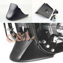 1Set Motorcycle Matte Black Front Fairing Bottom Mudguard Cover Fits For Harley Sportster 1200 XL Iron 883 2004-2015