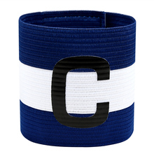 "JANUS Professional Football Match Captain Armband Soccer Arm Bands Flexible Sports Adjustable Anti-drop Captain Armband ""C"" Word(China)"