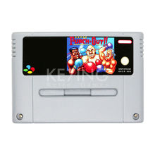Nintendo Super Punch Out Video Game Cartridge Console Card English Language PAL Euro Version