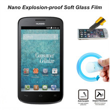 Ultra Clear Nano Explosion-proof Soft Glass Screen Protector Film for Huawei Vision 2 Protective Film