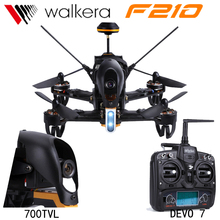 Walkera F210 DEVO7 Remote Control RC Helicopter Quadcopter FPV Mini Drone with Camera 700TVL VS DJI Phantom 3 Free Shipping(China)