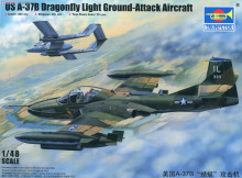 Trumpeter model 02889 1/48 US A-37B Dragonfly Light Ground-Attack Aircraft