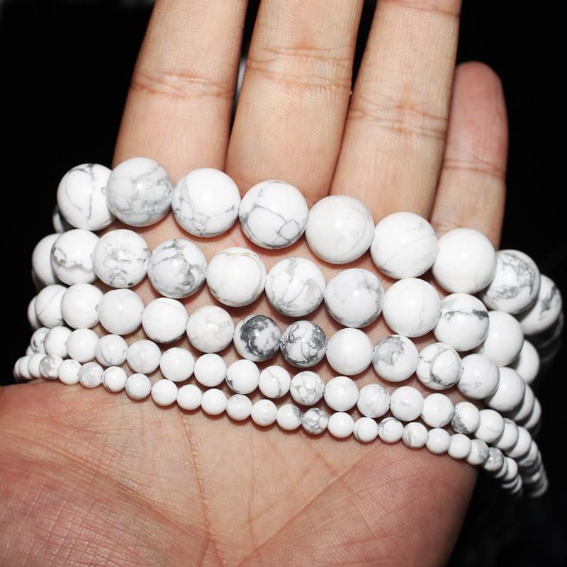 CB38 Ciruela Reino Unido Real Pulsera Perla Blanca Hilos Perlas de cristal Semilla Cuentas en Caja
