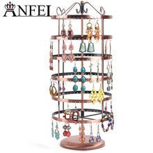 ANFEI Jewelry Display Rack Jewelry Stand Display Jewelry Holder Jewelry Organizer Earring Holder Total 288 Holes(China)