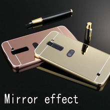 Buy Luxury Mirror Hybrid case LG K10 5.3inch Hard Metal Aluminum Protective back cover LG K10 phone cases shell for $2.80 in AliExpress store