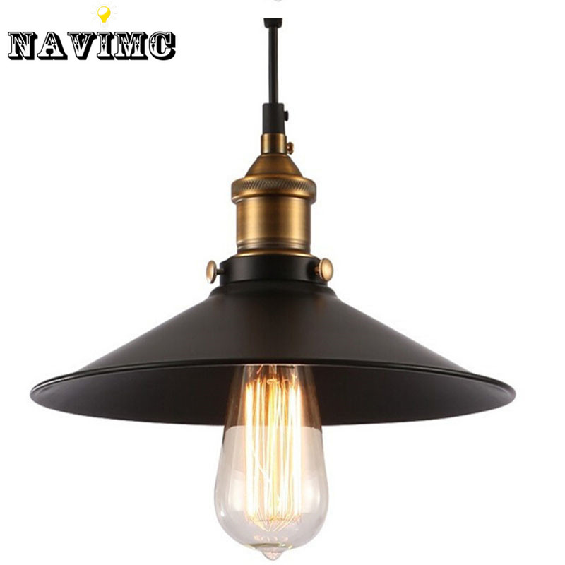 Diameter 260MM Vintage Loft Pendant Light Edison Pendant Hanging Suspensory Lamps For Dining Room Living Room Bed Room<br><br>Aliexpress