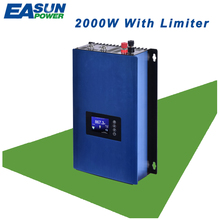 EASUN POWER Grid Tie Inverter 2000W MPPT Solar Power inverter Pure Sine Wave Inverter With Limiter 45-90VDC AC 220V 230V 240V(China)