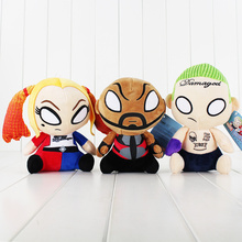 18-20cm DC Comics Suicide Squad Plush Toy Task Force X Stuffed Doll Harley Quinn Deadshot Joker with Tag