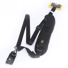 Buy Single Shoulder Quick Rapid Carry Speed Sling Cameras Strap Cam Carry Straps Canon Nikon Sony Pentax DSLR Camera for $6.29 in AliExpress store