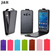 Flip Leather Case For Samsung Galaxy Ace 4 Lite G313 G313H SM-G313H Ace 4 Neo SM-G318H Cover Phone Cases Protective J&R Brand