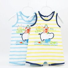 Newborn Summer Style Baby Boy Suit Cartoon Rompers Cute Cheap High Quality Baby Clothes
