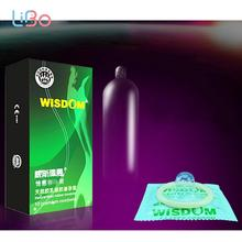 Buy PERSONAGE 10Pcs/Lot Dotted Thread Ribbed G-Point Latex Condoms Contraceptives Big Particle Spike Condom Men Sex Products