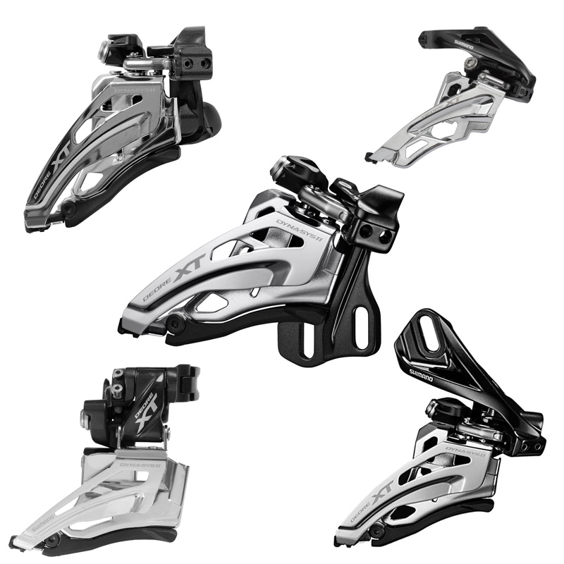 SHIMANO 2016 NEW XT FD M8000 M8025 M8020 2S 3S Front Derailleurs MTB Bike Mountain Bicycle Parts for 3x11S 2x11S Speed<br>