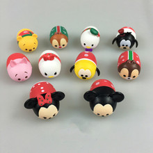 Dolls cartoon mini doll toys tsums Q version of cute modeling doll ornaments Cartoon character dolls pndant(China)