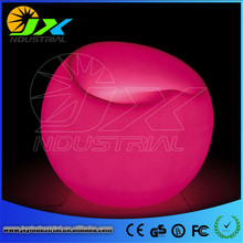 Apple Chair outdoor waterproof colourful rechargeable remote control switch control plastic led light furniture(China)
