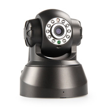 0.3mp ip camera CCTV camera p2p function wireless free DDNS camera pan/pilt mobile phone monitor