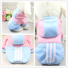 Funny Pet Dog Clothes Warm Fleece Costume Soft Puppy Coat Outfit for Dog Clothes for Small Dogs Winter Pet Clothing Hoodie(China)