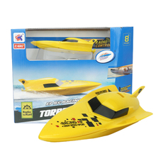 Mini RC Boat Speedboat 2.4G 4CH High Speed Out Boat Remote Control Titanic Ship Toys for Boys(China)