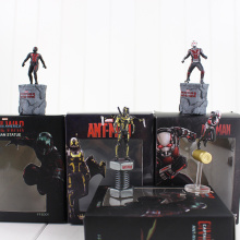 1pcs 6cm Marvel Anime Figures Ant Man Hornets Warrior Action Fugires Doll Model Avengers Toy