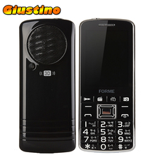 Original TV!FM!3D Sound!FORME TV1 Dual SIM card mobile phone big keyboard speaker 2500mAh  bluetooth unlocked cellphone