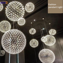 IWHD Modern LED Pendant Light Fashion Art Design Lamp Stainless Steel Pendant Lights Dining Room Home Lighting Fixtures Lamparas(China)