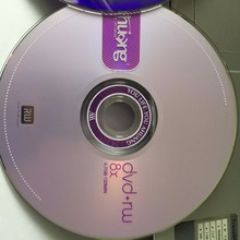 Wholesale Spindle 25 Discs Ohuang Grade A 4.7 GB 8x Blank Printed DVD+RW Disc(China)