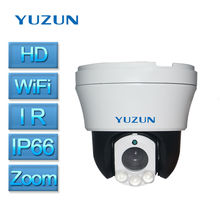 960P 1080P wifi cctv speed dome camera home security camera system wireless PTZ zoom ip camera indoor