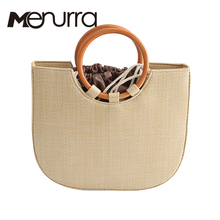 beach bag straw totes bag bucket summer bags with tassels women handbag braided 2017 new arrivals spring and summer high quality