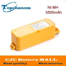 High Quality 3500mAh 3.5Ah NI-MH Vacuum Battery For iRobot Roomba 400 / 4000 / Create/ APC / Discovery / Dirt Dog Battery