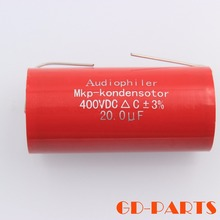 Buy 400VDC 20uf Red Axial Audiophiler Axial MKP Coupling Capacitor HIFI AUDIO Speaker Guitar AMP DIY Upgrade for $3.94 in AliExpress store