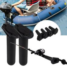 4pcs/Set Pole Spring Fishing Rod Rest Holder Outdoor Sports Grip Connect Pod Butt Gripper Professional Support Stand carp Tackle