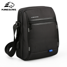 Kingsons Famous Brand Men Bag Casual Business Mens Messenger Bags Vintage Men's Crossbody Bag Bolsas Male(China)